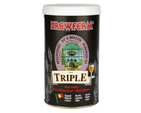 SPECIAL OFFER - Brewferm Triple - 16 Pint Belgian Beer Kit - Dented Tin