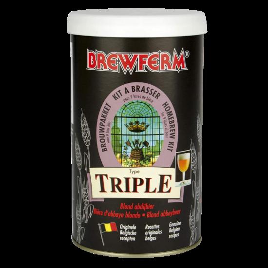 SPECIAL OFFER - Brewferm Triple - 16 Pint Belgian Beer Kit - Dented Tin
