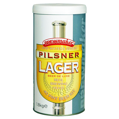SPECIAL OFFER - Brewmaker Pilsner Lager - 40 Pint Ingredient Kit - Dented Tin