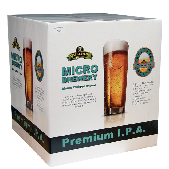 SPECIAL OFFER - Bulldog Micro Brewery - IPA - 40 Pint Starter Equipment With Beer