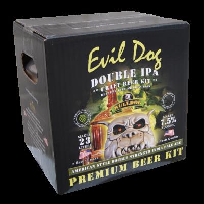 Bulldog Brews 4.7kg - Evil Dog Double I.P.A