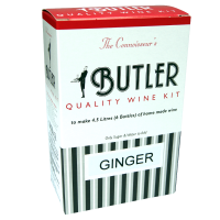 SPECIAL OFFER - Butler Ginger Wine - 6 Bottle Ingredient Kit - Damaged Box
