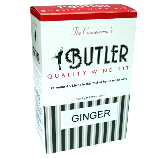 Butler Fortified 6 Bottle - Ginger