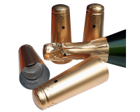 Champagne Bottle Foils / Capsules - Gold - Pack Of 30