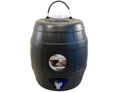 5 Gallon Balliihoo Cider Barrel