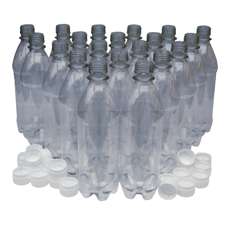 24 Pack Gold Screw Caps For 1L PET Bottles And Coopers Plastic Beer Bottles