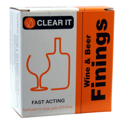 Finings - Clear It Wine & Beer (Treats Up To 270 Litres)