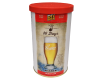 SPECIAL OFFER - Coopers 86 Day Pilsner - 40 Pint Beer Kit - Expired BBE