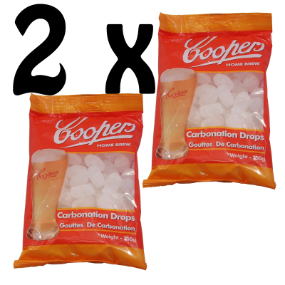 Coopers Carbonation Drops - Twin Pack
