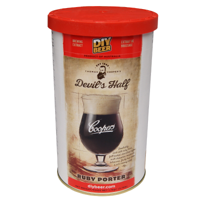 Coopers 1.7kg - Devils Half Ruby Porter