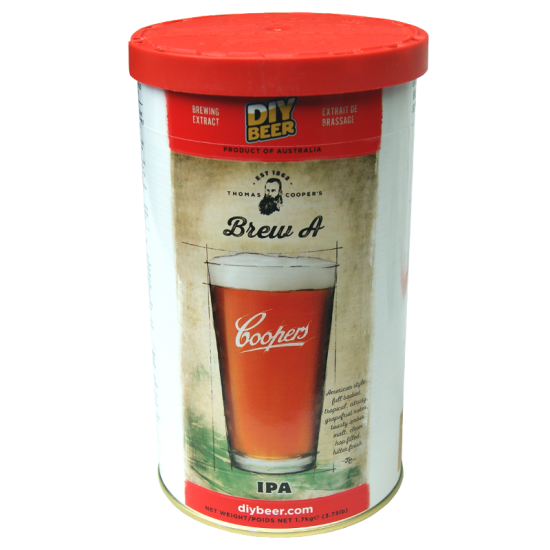 SPECIAL OFFER - Coopers Brew A - American IPA - 40 Pint Ingredient Kit - Damaged Box