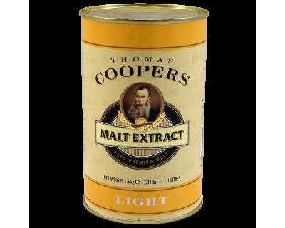 Coopers 1.5Kg Tin Of Liquid Malt Extract (Light)