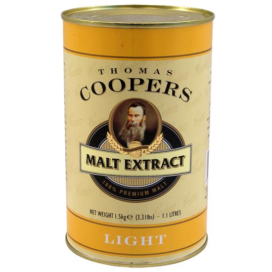 Coopers 1.5Kg Tin Of Liquid Malt Extract (Light)