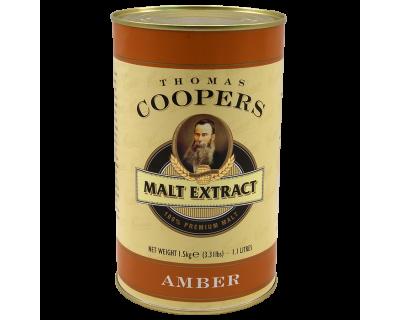 Coopers 1.5Kg Tin Of Liquid Amber Malt Extract (Medium)