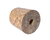 Single Bored Cork Bung For Demijohn