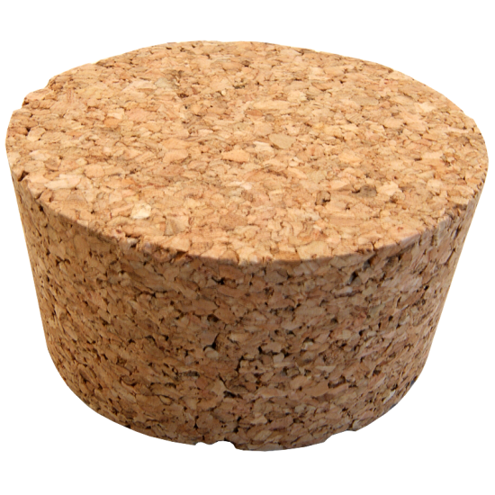 Solid Cork Bung Size No.8