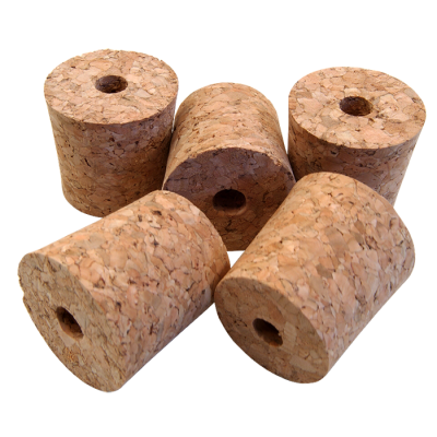 Bored Cork Bungs To Fit Standard 1 Gallon Demijohn - Pack Of 5