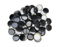 250 Crown Bottle Caps - Black