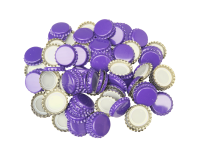 250 Crown Bottle Caps - Purple
