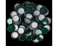 100 x Crown Caps - Green
