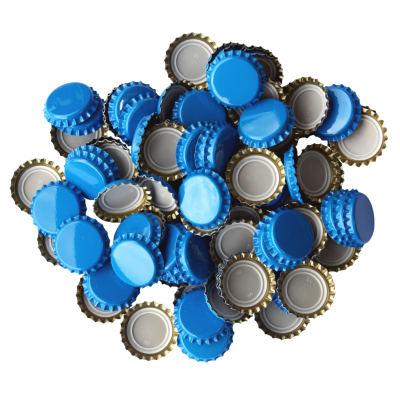 250 Crown Bottle Caps - Sky Blue