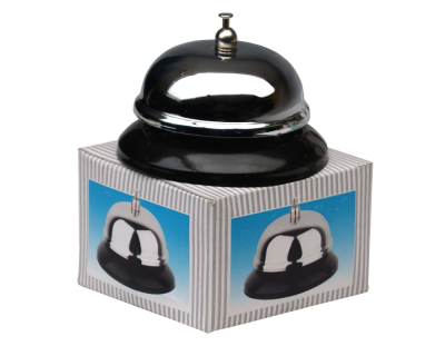 Reception / Bar Service Bell - 8cm Chrome Plated