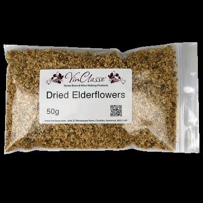 Dried Elderflowers - 50g Bag