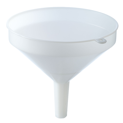 25 cm - 10 Inch Heavy Duty Plastic Funnel