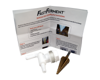 Sampling Port Spigot And Drill Bit For Fastferment