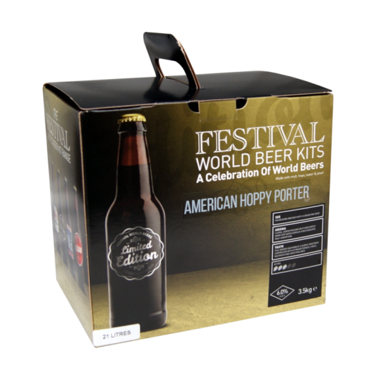 SPECIAL OFFER - Festival American Hoppy Porter - Limited Edition 36 Pint Ingredient Kit