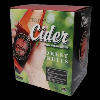 Festival Premium Cider 3.6kg - Forest Fruits
