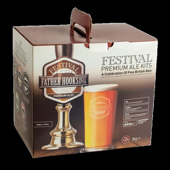 SPECIAL OFFER - Festival Father Hooks Best Bitter - 40 Pint Ingredient Kit - Damaged Box