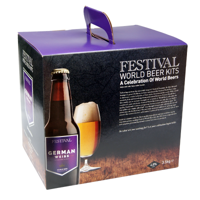 Festival World Beer Kits 3.5kg - German Weiss Wheat Beer