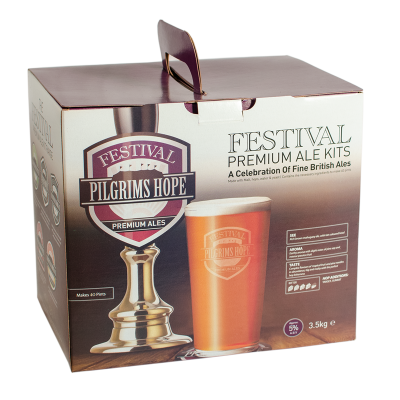 SPECIAL OFFER - Festival Pilgrims Hope - 40 Pint Ingredient Kit - Damaged Box