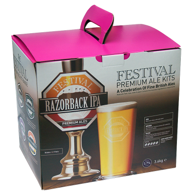 Festival Premium Ale 3.6kg - Razorback I.P.A