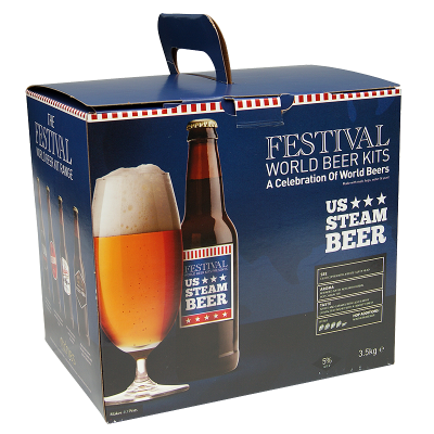 Festival World Beer Kits 3.5kg - U.S. Steam Beer