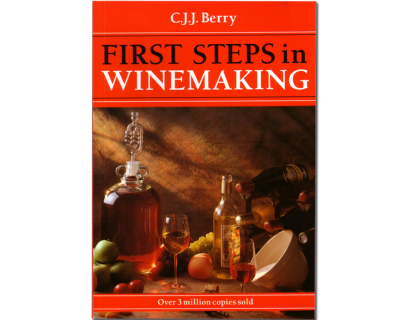 First Steps In Winemaking Book - C.J.J.Berry