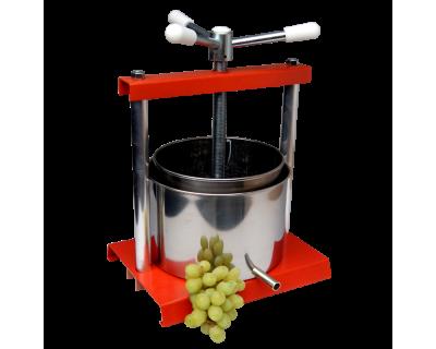Fruit / Grape Press - 20cm - 4.2 Litre Capacity