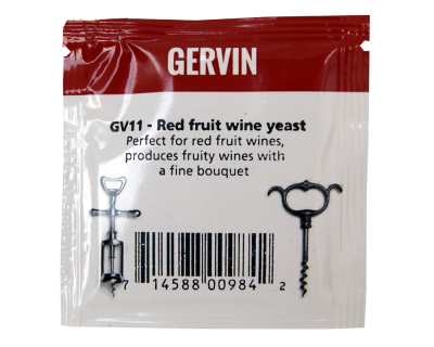 Gervin Yeast - GV11 Red Fruit Wine Yeast