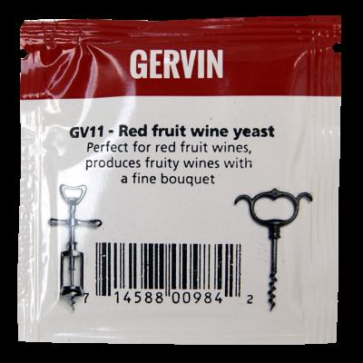 Gervin Yeast - GV11 Red Fruit Wine Yeast