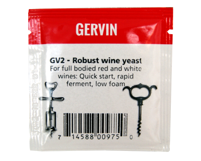 Gervin Yeast - GV2 Robust Wine Yeast
