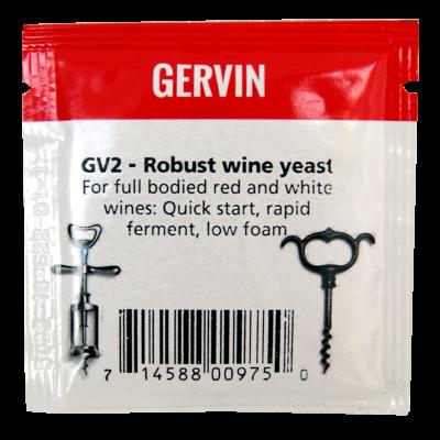 Gervin Yeast - GV2 Robust Wine Yeast