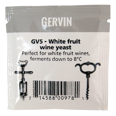 Gervin Yeast - GV5 White Fruit Wine Yeast