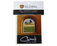 SPECIAL OFFER - GVI Printed Wine Sticker Labels - Chianti