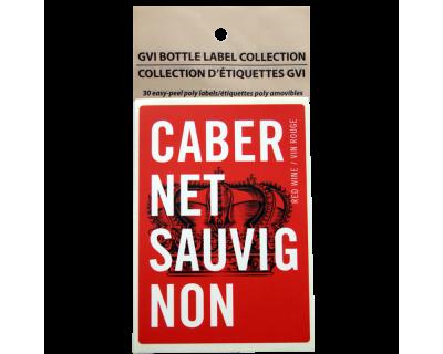 GVI Sticker Labels - Cabernet Sauvignon
