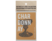 GVI Printed Wine Sticker Labels - Chardonnay
