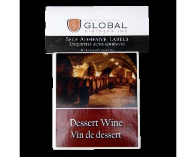 GVI Sticker Labels - Dessert wine