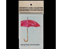 GVI Printed Wine Sticker Labels - Gewurztraminer