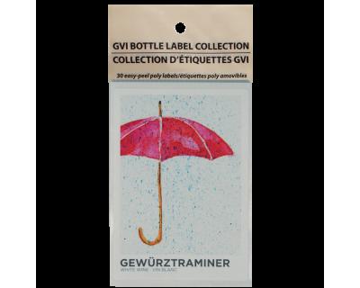 GVI Sticker Labels - Gewurztraminer