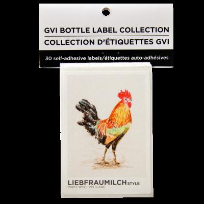 GVI Sticker Wine Labels - Liebfraumilch